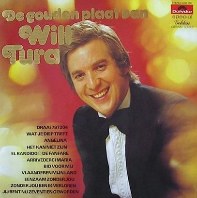 Will Tura - De Gouden Plaat Van
